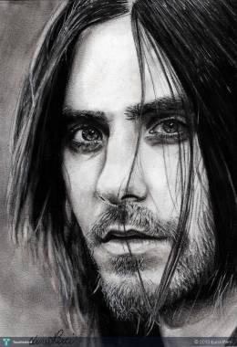 Happy Bday Jared Leto - Sketching | Luna Perri | Touchtalent