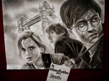 Harry Potter - Sketching | Laura Kordikova | Touchtalent