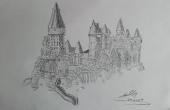 Hogwarts - Sketching | Laura Čerba | Touchtalent