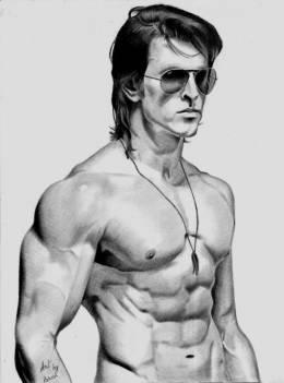 Hrithik Roshan Krrish 3 Pencil Sketch - Sketching | Paresh Jadhav | Touchtalent