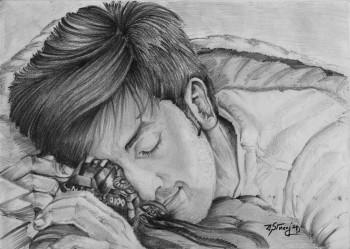 I Think It's Time To WAKE UP SID - Sketching | Sayandeep Banerjee | Touchtalent
