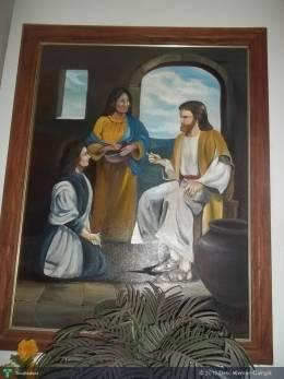 JESUS With Madonna (Acrylic On Canvas, 40 X 59 In) - Painting | Delio Klemen Cainglit | Touchtalent