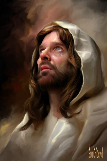 Jesus - Digital Art | David Tercias | Touchtalent