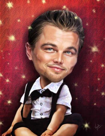 Leonardo DiCaprio - Digital Art | Vysakh Sidharth | Touchtalent