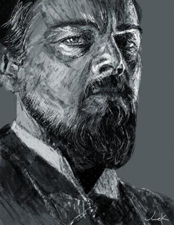 Leonardo DiCaprio Scribble - Digital Art | Vivek Mandrekar | Touchtalent