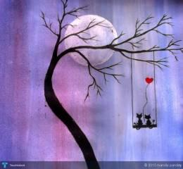Love Is In The Air........ - Painting | Mandip Pandey | Touchtalent