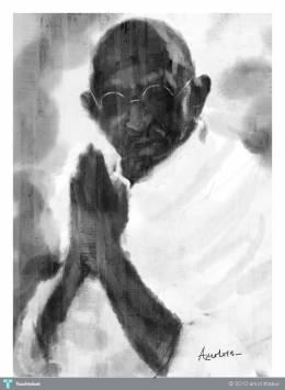 MAHATMA - Digital Art | Amol Thakur | Touchtalent