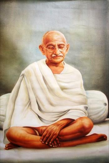 Mahatma Gandhi - Painting | Ramesh Halari | Touchtalent