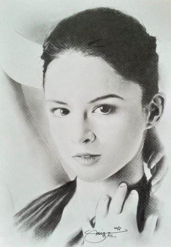 """Marian"" - Sketching 