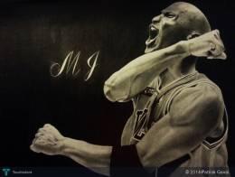 Michael Jordan The Legend  - Sketching | Patrick Gavai | Touchtalent
