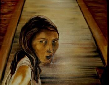 Mijn Dochter In Fantasie - Painting | Geert Coucke | Touchtalent