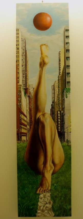 Mijn Kinderstraat - Painting | Geert Coucke | Touchtalent