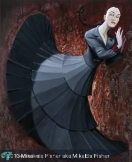Mika'Ela Fisher _ Painting Patrick Boussignac - Painting   Mika' Ela Fisher   Touchtalent