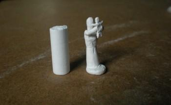 Mother Holding A Child - Sculpting | Pradeep Anurag Gade | Touchtalent