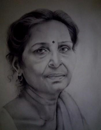 Mother - Sketching | Aashish Moga | Touchtalent