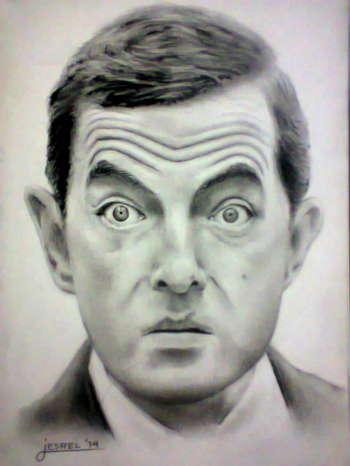 Mr. Bean - Sketching | Jesrel Terante | Touchtalent