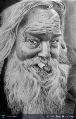 Old Man 2 - Sketching | Trent Humphreys | Touchtalent