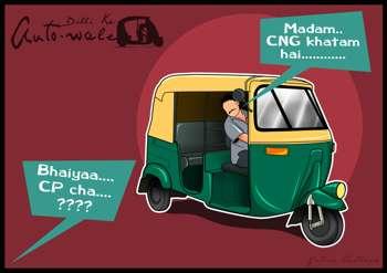 POSTER 2 - Dilli Ke AUTO WALE !! - Design | Yatish Asthana | Touchtalent