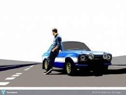 Paul Walker Tribute - Digital Art | Anthony  Corrigan  | Touchtalent