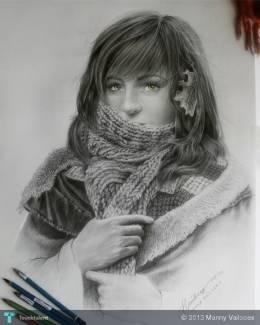 Pencil Drawing_sample - Sketching | Manny Vailoces | Touchtalent