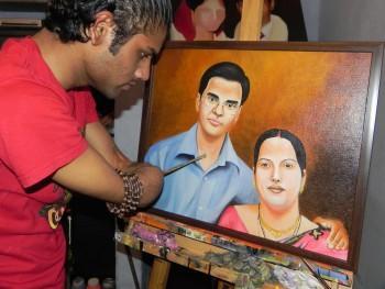Portrait - Painting | Dhaval Khatri | Touchtalent