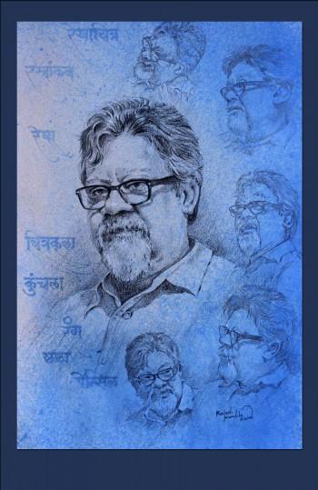 Portrait - Painting | Rajesh Kamble | Touchtalent