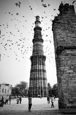 Qutub Minar  - Photography | Abhik Nandy | Touchtalent