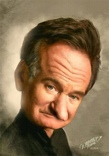 R.I.P Robin Williams, ACTOR - Painting | Wawan Teamlo | Touchtalent