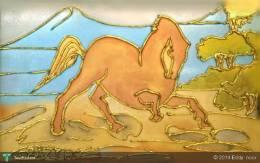 RENGGONG HORSE (sold) - Painting | Eddy  Noor | Touchtalent