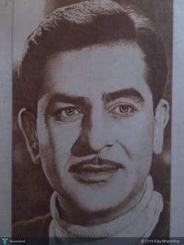 Raj Kapoor (By Agarbatti) - Painting | Vijay Dhanedhar | Touchtalent