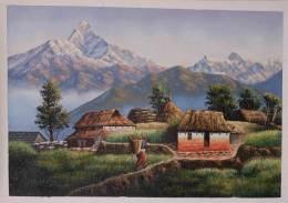 Real Nepal - Painting | Rusty Mind | Touchtalent