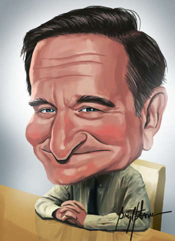 Robin Williams - Digital Art | Bryle Flores | Touchtalent