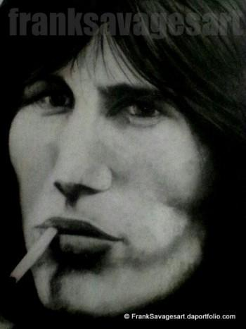 Roger Waters By Frank Savage - Sketching | Frank Savage | Touchtalent