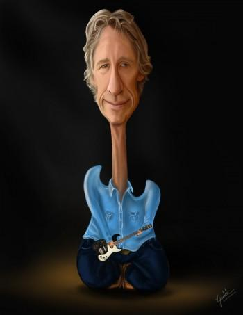 Roger Waters - Digital Art   Vysakh Sidharth   Touchtalent