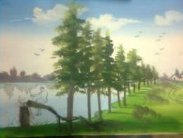 SAVE TREE SAVE EARTH - Painting | Jagriti Dubey | Touchtalent