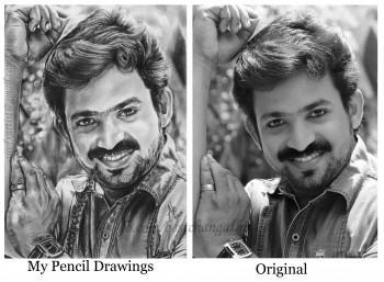 Saifullah Art By Artist Aji - Sketching | Artist Aji | Touchtalent