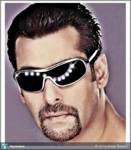 Salman Khan - Digital Art | Aejaz Saiyed | Touchtalent