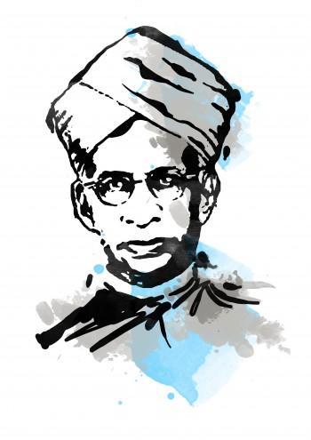 Sarvepalli Radhakrishnan - Digital Art | Touchtalent .com | Touchtalent