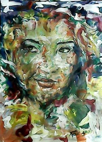 Scheming Muse - Painting   Fher Ymas   Touchtalent