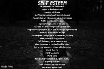 Self Esteem - Poetry | Melodie Fowles | Touchtalent