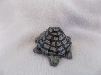Silver Turtle Upycle - Crafts | Maya Rodriguez | Touchtalent