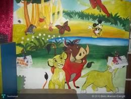 "Simba ""The Lion King"" (Mural Painting) - Painting 