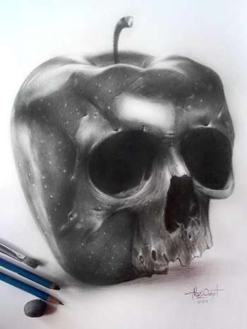 Sinful Fruit - Sketching | Nazz Quipit | Touchtalent