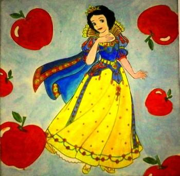 Snow White - Painting | Trina Das | Touchtalent