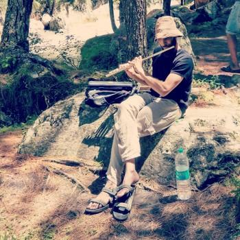 Spinning Music In Deep Forest - Photography | Lovin Nongmaithem | Touchtalent