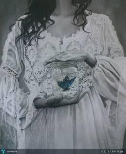The Woman - Painting | Pubali Dutta | Touchtalent