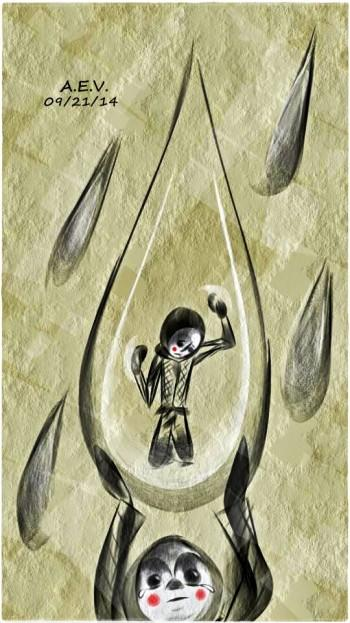 Trapped - Digital Art | Alfred E. Villanueva | Touchtalent