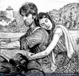 Tum Ho.. - Sketching | Srishti Sonkar | Touchtalent