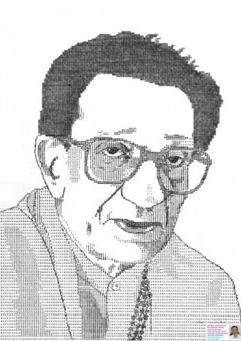 Unique Typewriter Portrait - Painting | Uday Mahadeo Talwalkar Worldrecordholder | Touchtalent