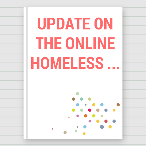 Update On The Online Homeless Featuring My Work - Crafts | Maya Rodriguez | Touchtalent